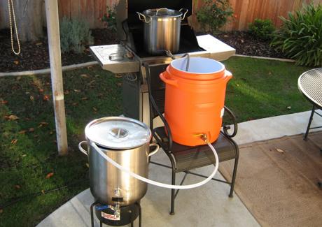 家酿啤酒设备的清洁与消毒