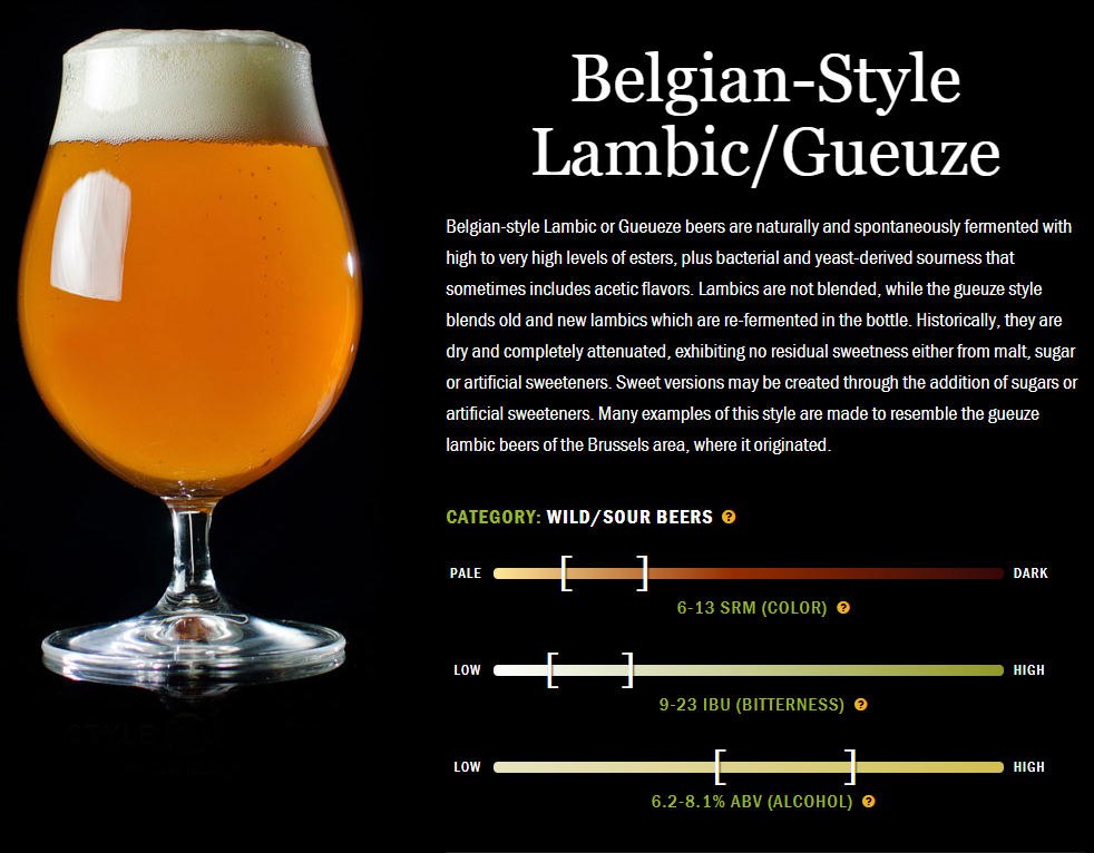 精酿啤酒介绍:天然发酵的个性派啤酒:兰比克啤酒