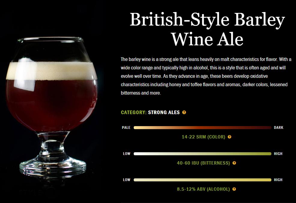 精酿啤酒介绍:英国老爱尔啤酒·大麦酒