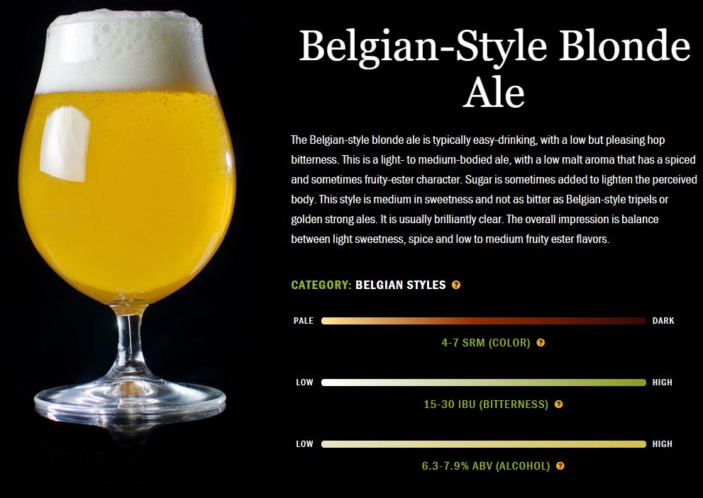 精酿啤酒配餐:比利时型白色艾尔啤酒