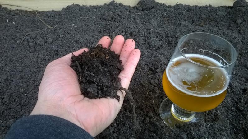 精酿啤酒酒花种植:土壤准备&废谷堆肥
