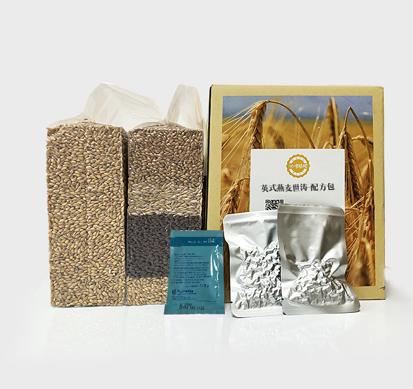 咕噜精酿配方包:英式燕麦世涛啤酒及其家庭酿造过程
