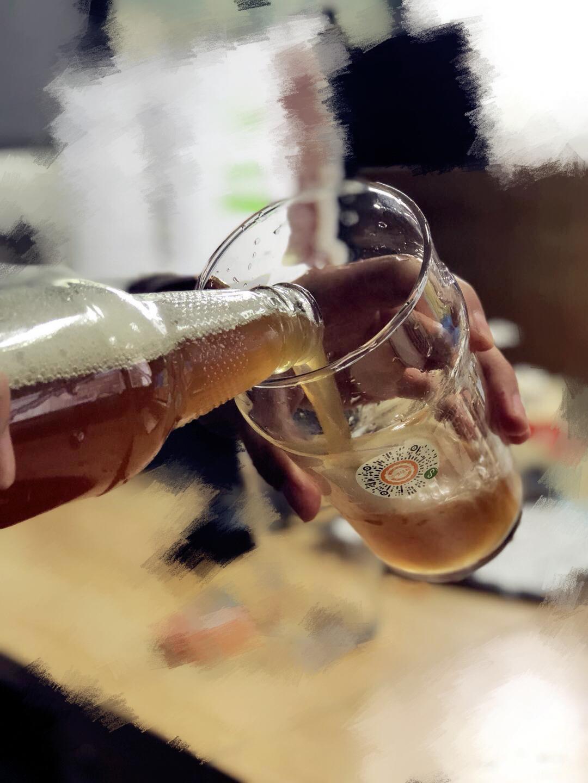 他第二次酿酒选用这款配方包,酿出了媲美高大师的IPA