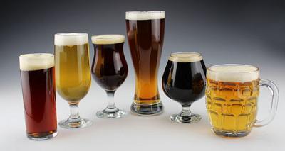 来自BeerAdvocate的酒杯搭配指南