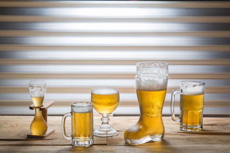 精酿啤酒酒杯_啤酒靴子