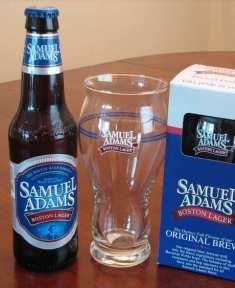精酿啤酒酒杯_山姆亚当斯完美品脱杯